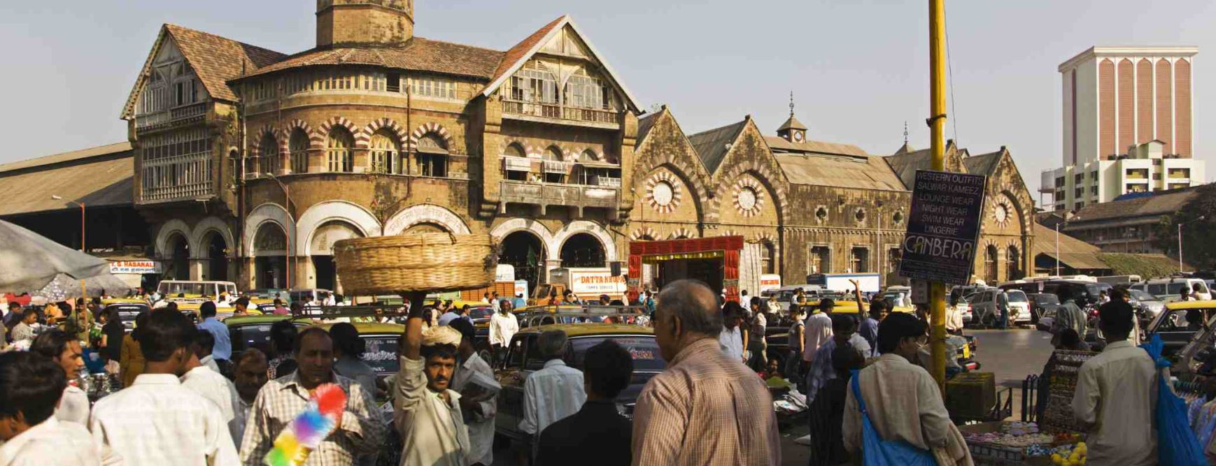 Half-day city tour of Mumbai